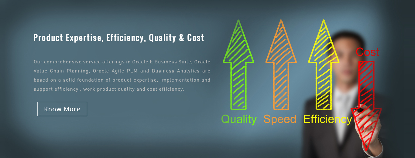 Product Expertise, Efficiency, Quality & Cost